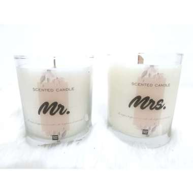 harga Muno Folk Soy Scented Candle Wedding Gift Glass [7 Oz/210 g/Package 1] Blibli.com