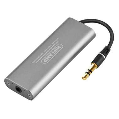 harga HiFi Headphone Amplifier 3.5mm - SD05 Silver Blibli.com