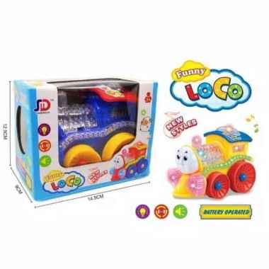 harga Amanah Toys Mainan Kereta Api Thomas Bump and Go Blibli.com