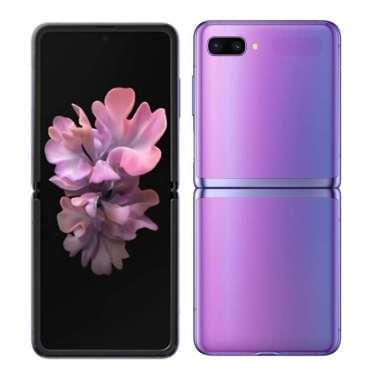 SAMSUNG Galaxy Z Flip 8GB/256GB - Mirror Purple ( Originl Garansi Resmi Samsung Indonesia )