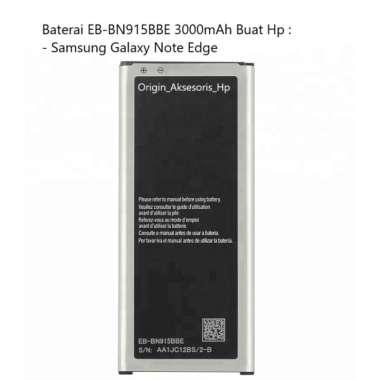 harga Original Baterai EB-BN915BBE Buat Handphone Samsung Galaxy Note Edge Blibli.com