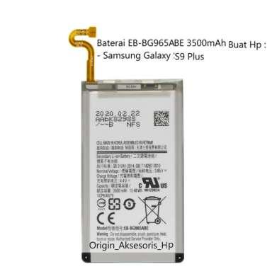 harga Original Baterai EB-BG965ABE Buat Handphone Samsung Galaxy S9 Plus Blibli.com