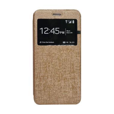 Delkin Flip Cover Casing for Samsung Z2 - Gold