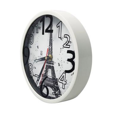 Miracle VT03 Vintage Paris Jam Dinding - White f7e9c58949