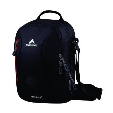 Eiger Shoulder Bag Laptop Wanders 7 Tas Pria [10 Inch] - Hitam