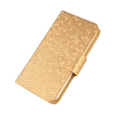 Leather Case Sarung ... - New Case 4D Kucing For VIVO .