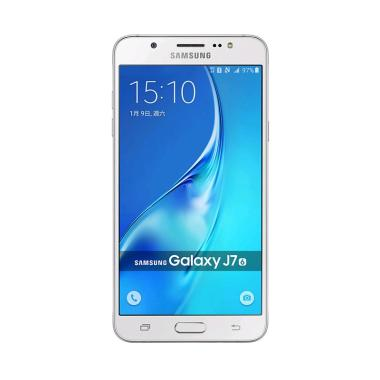 Samsung Galaxy J7 2016 Smartphone - Putih [16 GB]