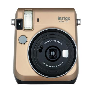 Fujifilm Instax Mini 70 Kamera Polaroid instaxshop - Gold