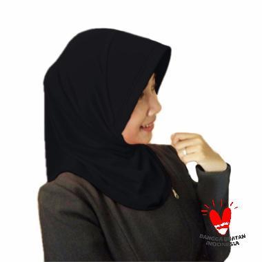 Milyarda Hijab Marshanda Kerudung Instant - Black