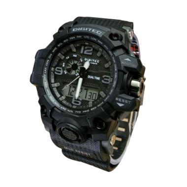 Digitec DG X-0293 Dual Time Jam Tangan Sport Pria