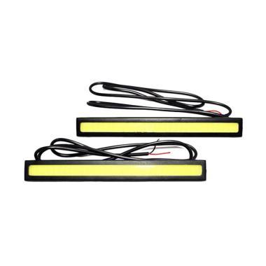 LED DRL Plasma Lampu Siang untuk Kendaraan - Putih [17 cm]