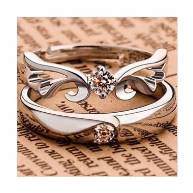 Bella & Co Xuping Ring Cincin Tunangan - Silver