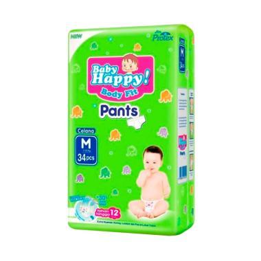 Baby Happy Pants Popok Bayi [Size M/ 34 pcs]