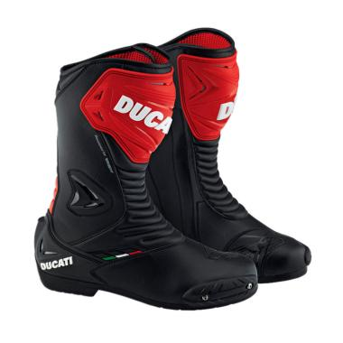 Ducati Boots Sport 2 Sepatu Boots - Black Red