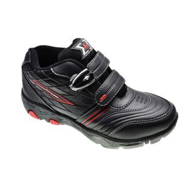Homyped Reynand 02 Sepatu Sekolah Anak - Black