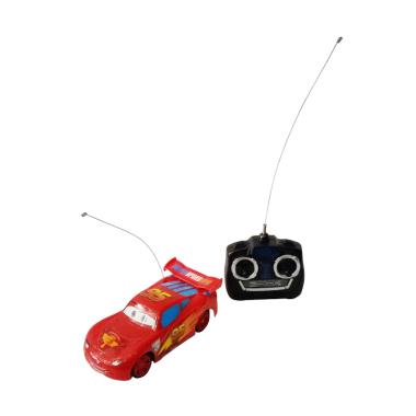 Momo Super Racing Cars 2 New Style Ages3+ Mainan Anak - Merah