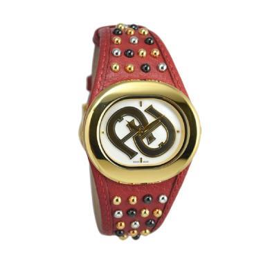 Aigner A21292 Ravello Due Jam Tangan Pria - Merah Gold