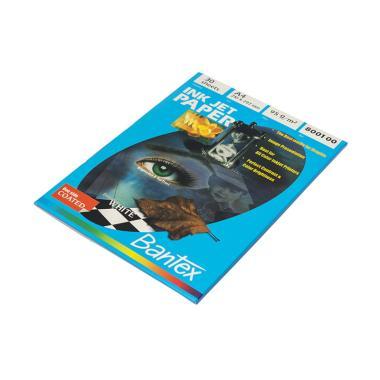 harga Bantex  #8001 00 Matt Coated Ink Jet Paper A4 [95 g/30 sheets] Blibli.com