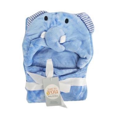Carter's Elephant Topi Selimut Bayi - Blue