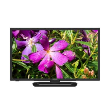 Sharp Aquos LC-32LE260i LED TV - Black [32 Inch] + Free EcoBag