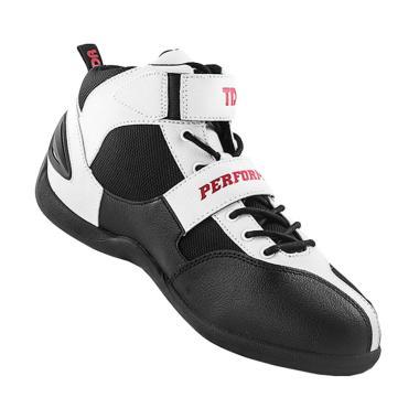 TDR Perfomance Speed Sepatu Boots - Black White