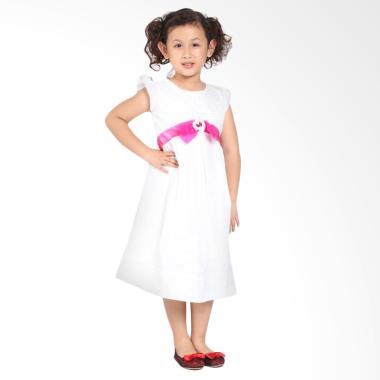 Pretty Girl NAJWA Dress Anak - White