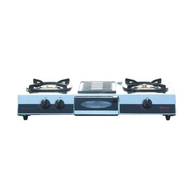 Rinnai Grill Plate Rl-514A Kompor Gas [2 Tungku]