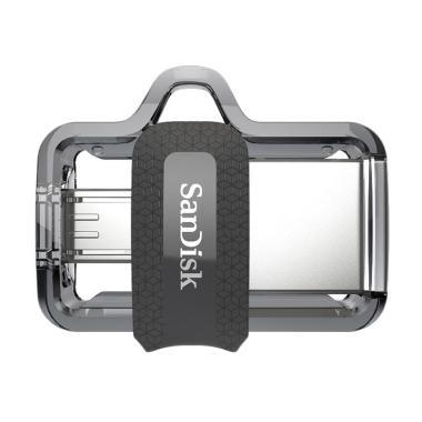 SanDisk m3.0 Ultra Dual USB Drive OTG [64 GB/USB 3.0] #Garansi Resmi#