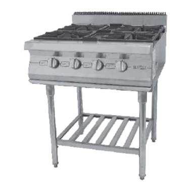 harga Gas Open Burner with Stand GETRA RBD-4 / 70x80x85 ( 4 Burner ) Blibli.com