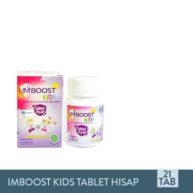 Imboost Kids Tablet Hisap - Suplemen Penambah Daya Tahan Tubuh Anak