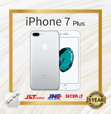 harga Apple iPhone 7 Plus 128GB Silver Black Gold Red Rosegold Silver Blibli.com