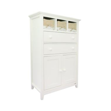 Dove's Furniture Rak Serbaguna RS-001 - White