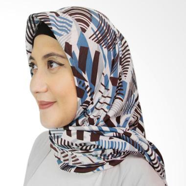 ICL Boutique Scarf 001 Jilbab Segiempat - Tosca Grey