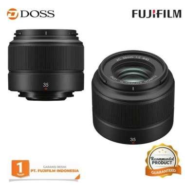 DOSS Fujifilm XC 35mm F2 / Lensa Fujifilm XC 35mm F2 / Fujifilm 35mm F2 BLACK