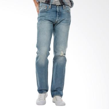 Levi's 501 Original Fit Ultra Beat Celana Jeans Pria 00501-2482