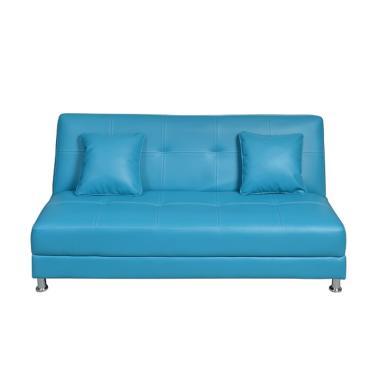 Olc Luxio Sofa Bed - Light Blue [Khusus Jabodetabek]