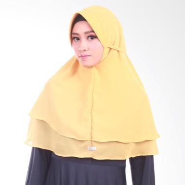 Atteenahijab Khimar Maysun Pet Jilbab Instant - Gold