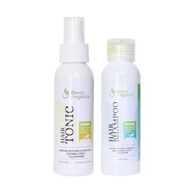 obat penumbuh rambut, shampo penumbuh rambut, shampo anti ketombe best seller, vitamin rambut rontok Green Angelica, obat rambut botak teruji BPOM
