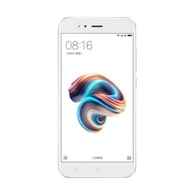 Xiaomi Mi 5x Smartphone - Gold [64GB/ 4GB] Free Speaker Bluetooth