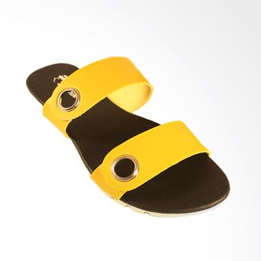 Dr.Kevin 57011 Women Leather Sandals - Yellow
