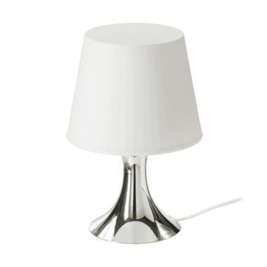 Ikea Lampan Lampu Meja - Perak