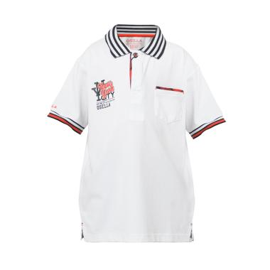 Osella Kids New York City Polo Shirt Anak - White