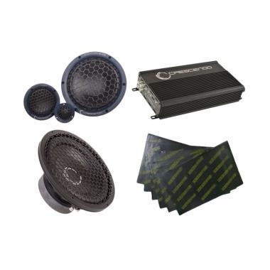 Paket Audio Mobil Crescendo 4 - Gema Audio [Pasang Di Tempat]