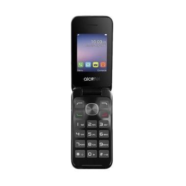 Alcatel 2051D Handphone - Silver