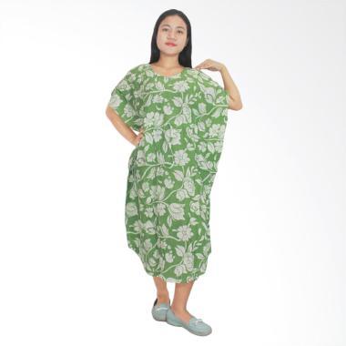 Batik Alhadi DPT002-14E Daster Lowo Batik Piyama  Baju Tidur Jumbo