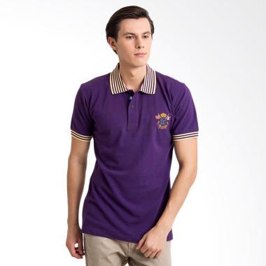 Labette Polo Shirt Pria - Purple [102230313]