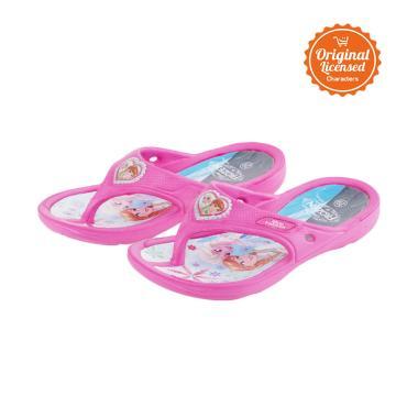 Disney Frozen Elsa & Anna Eva Flip Flop Sandals Anak Perempuan