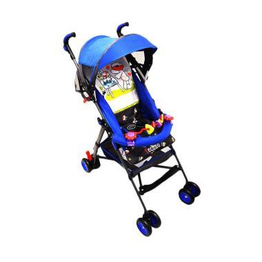 Pliko PK 107 CGC Buggy Techno Baby Stroller - Biru Tua