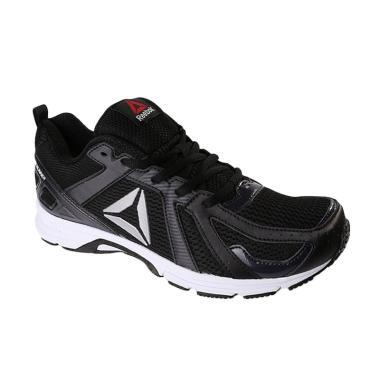 Reebok Runner MT Men Running Shoes Sepatu Lari Pria - Black [BD2877]