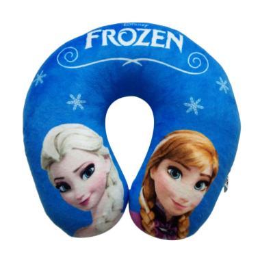 SEULGI 0960020381-2 Frozen Boneka Bantal Leher - Blue
